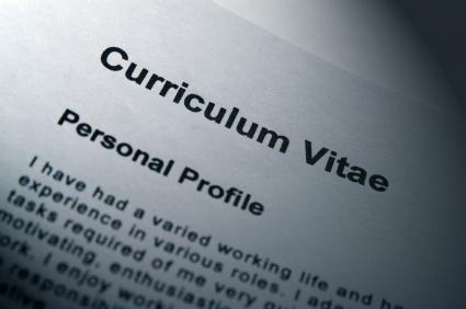 CV or personal profile